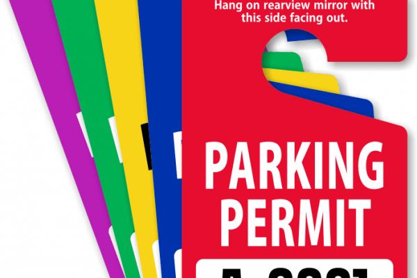 parking decals